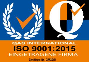 ISO 9001:2015 Zertifikat von Lionware GmbH